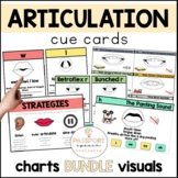 Articulation Visuals and Cue Cards BUNDLE