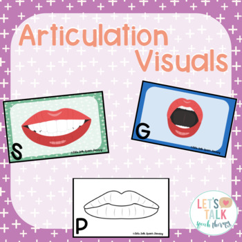 #sept2018slpmusthave Articulation Visuals for Speech Therapy