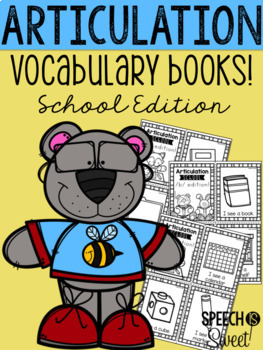 Articulation Vocabulary Books Bundle!
