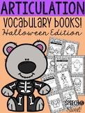 Articulation Vocabulary Books: Halloween Freebie