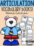 Articulation Vocabulary Books: Home Edition