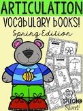 Articulation Vocabulary Books: Spring Edition