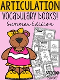 Articulation Vocabulary Books: Summer Edition