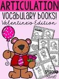 Articulation Vocabulary Books: Valentine's Day Freebie
