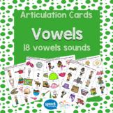 Articulation Vowel Cards