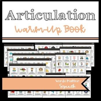 Articulation Warm-Up Book