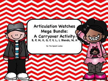 Articulation Watches Mega Bundle: A Carryover Activity