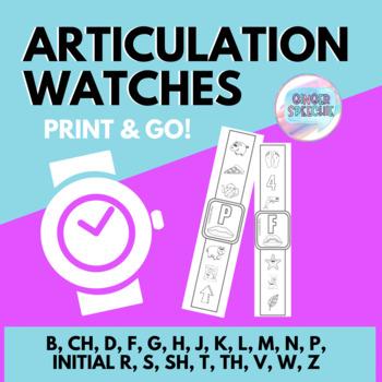 Articulation Watches | Print & Go