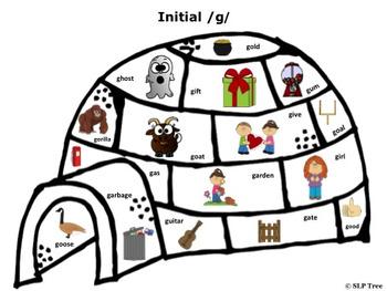 Articulation Winter Craftivty: Build A Speech Igloo G FREEBIE