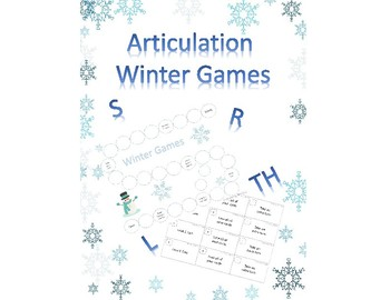 Articulation Winter Games | S, R, TH, L