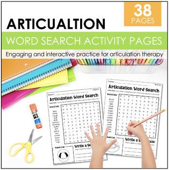 Articulation Word Search Bundle