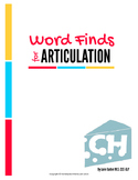 Articulation Word Search - CH Sound