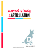 Articulation Word Search - D Sound