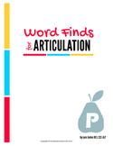Articulation Word Search - P Sound