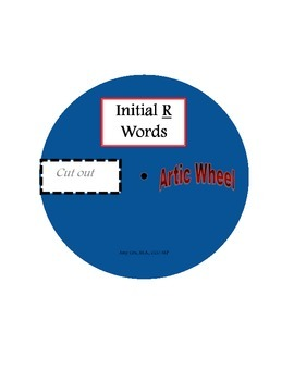 Articulation Word Wheels
