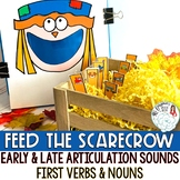 Articulation and Language Activity: Feed the Scarecrow