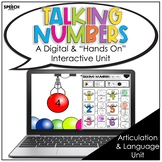 Articulation and Language Number Sense: Distance Learning