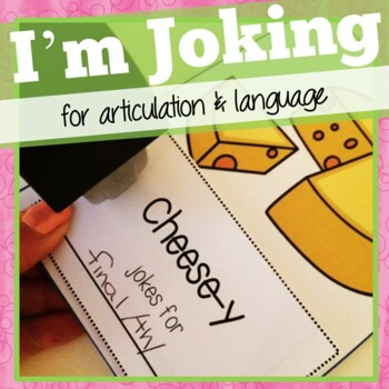 Joke Books for Articulation and Language:  I'm Joking!