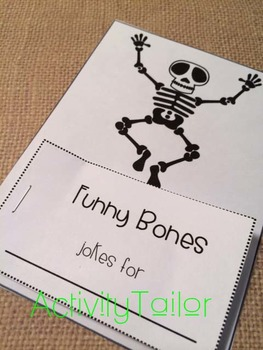 Articulation and Language Therapy Joke Books: I'm Joking! Halloween Sample