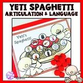 Yeti Spaghetti Articulation and Language Game Companion