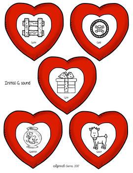 Articulation and Language Valentine's Day Wreath Craft