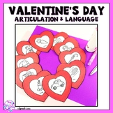 Valentine's Day Articulation and Language Craft
