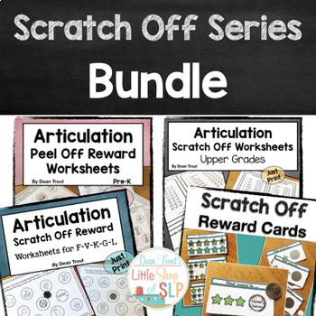 Articulation and Reward Scratch Off Series Bundle