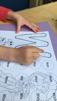 Articulation and Sound Letter Correspondence Coloring Pages