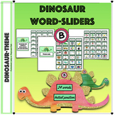Articulation: /b/ (Initial) Dinosaur Word sliders