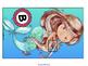 Articulation: /b/ (Initial) Mermaid Word sliders