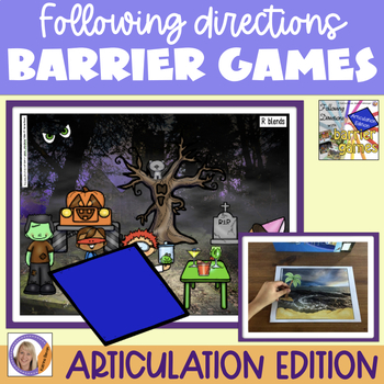 Articulation edition: Following Directions with Barrier Games
