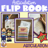 Articulation flip book- 'ar' sound for speech and language therapy