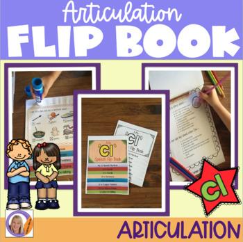 Articulation flip book- 'cl' blend