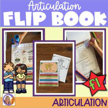 Articulation flip book- 'fl' blend
