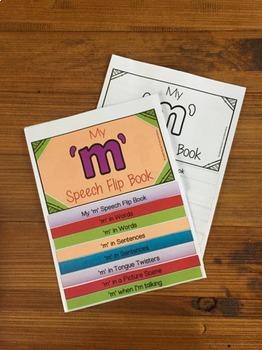 Articulation flip book- 'm'