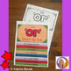 Articulation flip book- 'or' sound for speech and language therapy