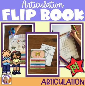 Articulation flip book- 'pl' blend