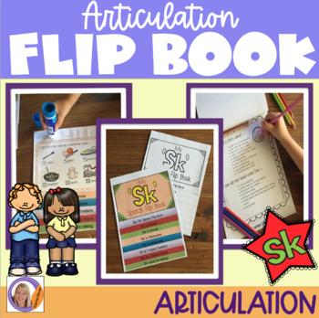 Articulation flip book- 'sk' blend