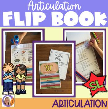 Articulation flip book- 'sl' blend