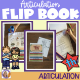 Articulation flip book- 'th' for speech and language therapy