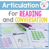 Articulation for Reading and Conversation Speech Therapy Intervention