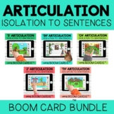 Articulation Boom Cards™  for S, SH, CH, J and TH | Distan