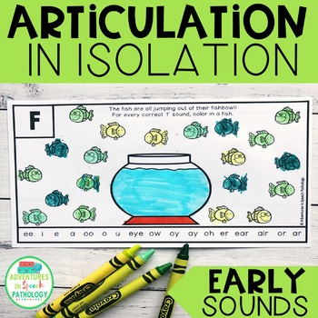Articulation in Isolation - Early Sounds