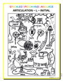 Articulation - initial L - Coloring Sheet - Phonology