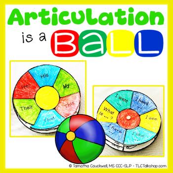 Articulation is a Ball: Beach Ball Craft for Articulation
