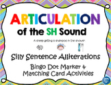Articulation of the SH Sound With Silly Sentence Alliterations