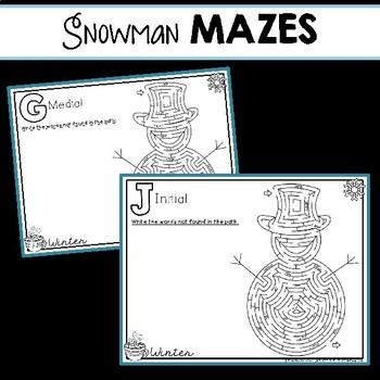 Articulation to A-Maze: Winter Edition