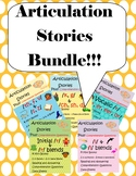 Articulation Stories Bundle! Articulation + Comprehension, Speech and Language