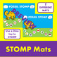Articultion T ALL Positions! Fossil STOMP Dinosaur Speech Therapy Smash Mat
