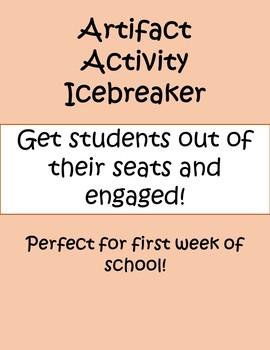 Artifact Activity Icebreaker